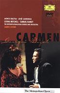 歌劇『カルメン』全曲 レヴァイン&メトロポリタン歌劇場、バルツァ、カレーラス、他