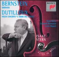 Serenade / Vn.con: Stern / Bernstein, Maazel