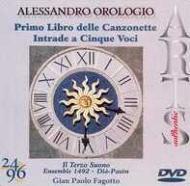 Canzonette A Tre Voci Book.1, Intrade A Cinque Voci: Ensemble 1492 Etc