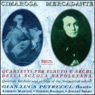 Flute Quartets.1, 4, 6 / Chamber Works With Flute: Petrucci(Fl)