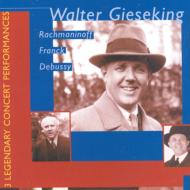 Piano Concertos.3 / Sym.variations: Gieseking, Barbirolli, Mengelberg