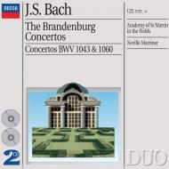 ブランデンブルク協奏曲第1〜6番 マリナー&ASMF(2CD)