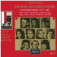 モーツァルト(1756-1791)/Great Mozart Singers Vol.5 Salzburg