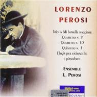 String Quartet.9, 10, Quintet.2, String Trio: Ensemble L.perosi
