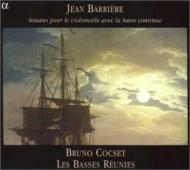 Sonatas For Cello & Bass: Cocset(Vc)Les Basses Reunies