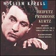 Violin Sonata, Viola Sonata / Cello Sonata: Heifetz, Primrose, Kurz / Kapell