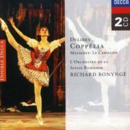 ドリーブ:バレエ音楽『コッペリア』、マスネ:バレエ音楽『鐘』 ボニング&スイス・ロマンド管、ナショナル・フィル(2CD)