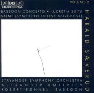 Lucretia Suite, Salme, Bosson Concerto: Dmitriev / Stavanger.so, Ronnes(Fg)