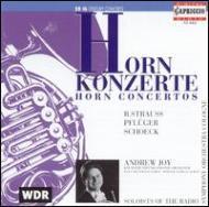 ホルン協奏曲 ジョイ(ホルン)、ハウシルト(指揮)、ケルン放送交響楽団