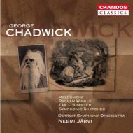 チャドウィック:管弦楽作品全集 ヤルヴィ/デトロイト交響楽団