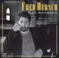 Live At Maybeck Recital Vol.31