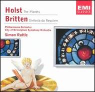 The Planets / Sinfonia Da Requiem: Rattle / Po, City Of Birmigham.so