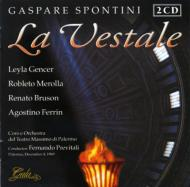 La Vestale: Previtali / Teatro Massimo Di Palermo, Gencer, Merolla, Bruson,