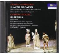 Il Mito Di Caino: Parisi / Milano I Pomeriggi Musicali +c.togni: Barrabas