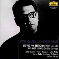 Beethoven Triple Concerto, Brahms Double Concerto : Schneiderhan, Anda, Fournier, Starker, Fricsay / Berlin Radio Symphony Orchestra