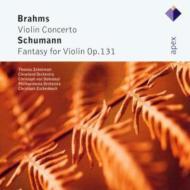 Violin Concerto / Fantasy: Zehetmair, Dohnanyi / Cleveland.o, Escenbach / Po