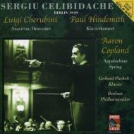 Appalachian Spring Suite / Pianoconcerto: Celibidache / Bpo