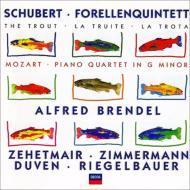 Piano Quartet.1 / Piano Quintet: Brendel, Zehetmair, T.zimmerman, Etc