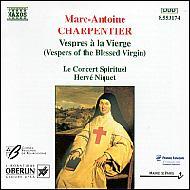 聖母マリアの夕べの祈り H.ニケ/ル・コンセール・スピリチュェル