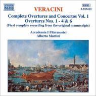 序曲と協奏曲集1(序曲第1〜4番、6番) マルティーニ&アッカデミア・イ・フィラーモニチ