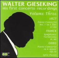 P.concertos: Gieseking / Walter, Rosbaud