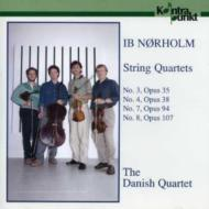 String Quartet.3, 4, 7, 8: Danish.q