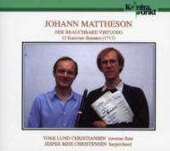 12 Chamber Sonatas: T.l.christiansen(Fl)j.b.christensen(Cemb)