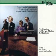 Trios For Flute, Cello & Piano: T.l.christiansen(Fl)a.l.christiansen(Vc)we