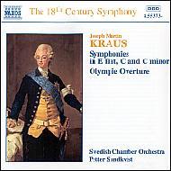 交響曲集・オリンピア序曲 スンドクヴィスト/スウェーデンCO