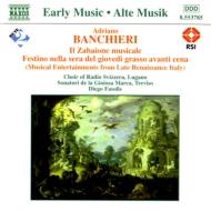 Il Zabaione Musicale: Fasolis / Sonatori De La Gioiosa Marca
