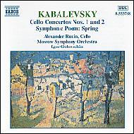 チェロ協奏曲No.1,2/交響詩「春」 ルディン/ゴロフスチン/モスクワSO