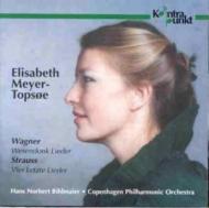 Wesendonk-lieder / 4 Letzte Lieder: Meyer-topsoe(S)bihlmaier / Copenhagen.p