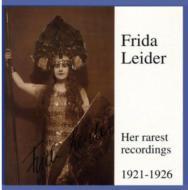 Frida Leider(S)Opera Arias Vol.3