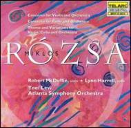 ヴァイオリン協奏曲, Cello Concerto レヴィ&アトランタ響