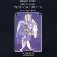 Morike-lieder: Schreier / Engel