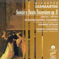 フラウト・トラヴェルソと通奏低音のための・ソナタ集 Op.2 から コルンブロ