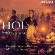 ホル:交響曲第1番&第3番 バ−メルト/ハ−グ・レジデンティ管弦楽団