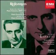 Piano Concerto.1 / 3: Lipatti(P)ansermet / Sro, Sacher / Swr.so +bach: Concerto