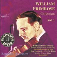 Harold En Italie / Viola Sonata: Primrose, Koussevitzky