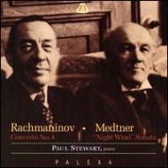 Piano Concerto.4 / Piano Sonata.7: Stewart, ゴロフチン / Moscow.rso