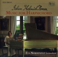Comp.harpsichord Sonatas: Nordenfelt