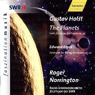 ホルスト:惑星、エルガー:弦楽セレナード ノリントン指揮シュトゥットガルト放送交響楽団