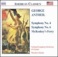 演奏会用序曲「マッコンキーの渡り」/交響曲第4番「1942年」/同第6番 クチャル/ウクライナ国立交響楽団