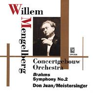 ブラームス:交響曲第2番、R.シュトラウス:『ドン・ファン』、他 メンゲルベルク&コンセルトヘボウ管