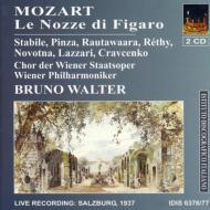 モーツァルト(1756-1791)/Le Nozze Di Figaro: Pinza Stabile Rethy Walter / Vpo('37)