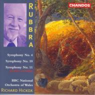 ラブラ交響曲全集 Vol.2 交響曲第4.10.11番 ヒコックス/BBCウェールズ・ナショナル管弦楽団