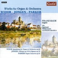 Symphony For Organ & Orchestra: Hauk(Org)ibarra / Ingolstadt Philharmonie