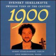 Swedish Turn Of The Century Violin Music