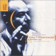 サン=サーンス:ヴァイオリン協奏曲第3番、ベン=ハイム:無伴奏ヴァイオリン・ソナタ、他 フランチェスカッティ、ブーレーズ&ニューヨーク・フィル(1975)、他