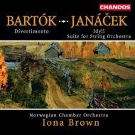 [バルト−ク、ヤナ−チェク:弦楽合奏のための作品集]ブラウン/ノルウェ−室内管弦楽団